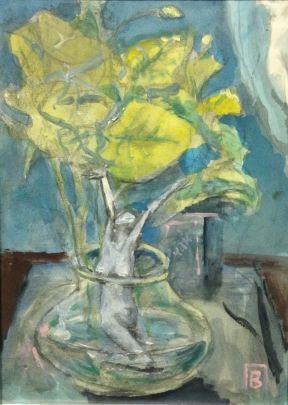 «Стоящая в цветах» 1990 - Павлов Виктор Анатольевич