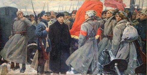 «В суровые дни Октября» 1970 е - Наседкин Анатолий Леонидович