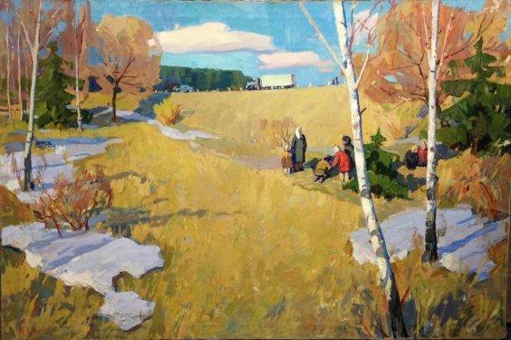 «Ранняя Весна» 1963 - Кокин Михаил Александрович