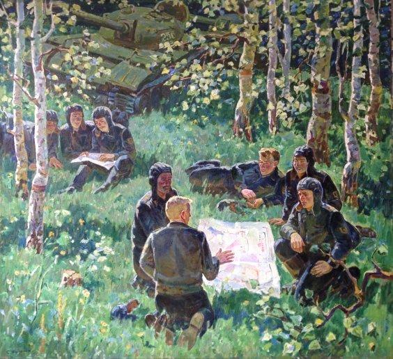 «Среди мирных берез» 1978 - Фоменок Станислав Федорович
