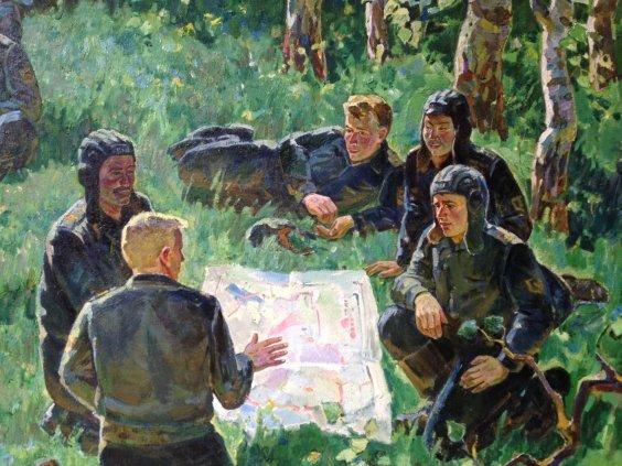 «Среди мирных берез»-Фоменок Станислав Федорович