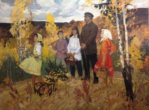 «Сталин и дети» 1952-1953 - Одайник-Самоойленко Зоя Алексаандровна