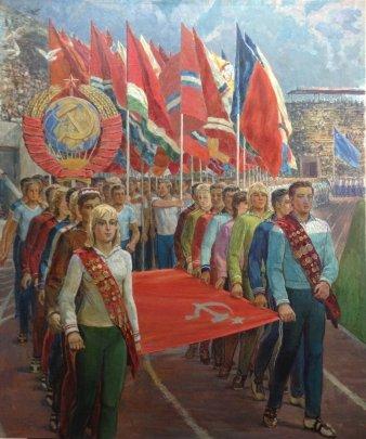 «Спортивный Марш» 1986 - Магмедов Георгий Иванович