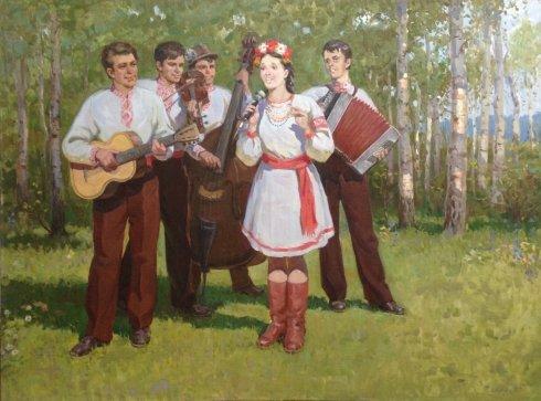 «Украинская песня» 1985 - Егорова Тамара Ивановна