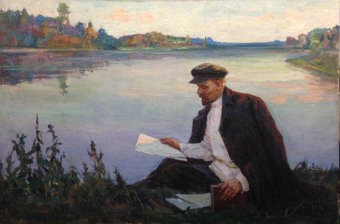 «Ленин в Разливе» 1960 е - Шифман Исаак Григорьевич