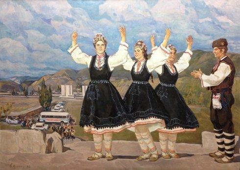 «Греческий танец» 1982 - Крыжевский (Крижевский) Григорий Зиновьевич
