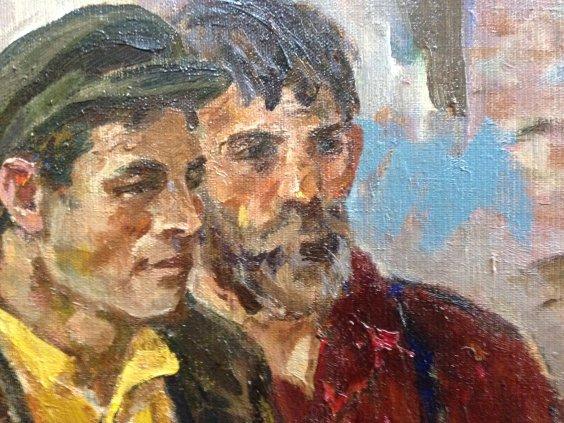 «Ленин с рабочими з-да Серп и Молот»-Горшков Николай Дорофеевич