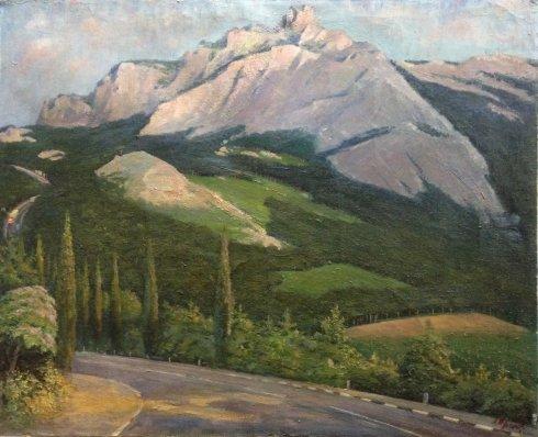 «В Крымских горах» 1985 - Орлик Леонтий Иванович