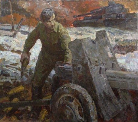 «На рубеже» 1970 е - Пыриков Борис Викторович