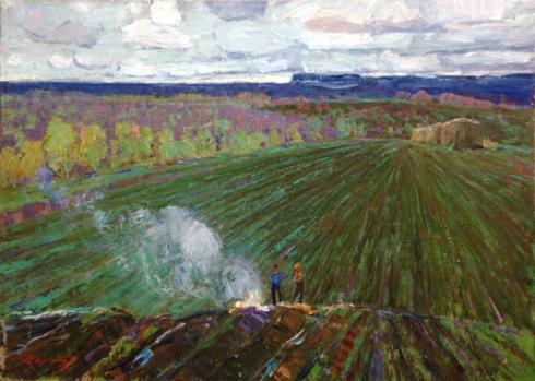 «Весна на Черниговщине» 1966 - Стремский Александр Иванович