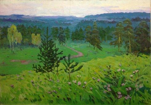 «В утренней дымке» 1967 - Цион Рахиль Львовна