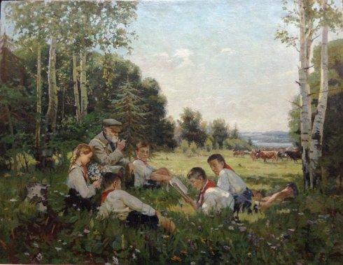 «Советские ребята» 1951 - Беляев Николай Яковлевич