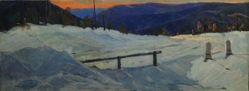«Вечер на перевале» 1965 - Итяксов (Итаксов) Петр Васильевич