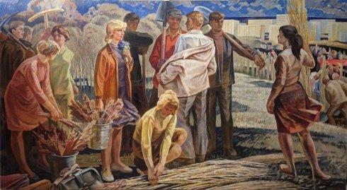 «Молодежная Весна» 1965  - Любавин Юрий Михайлович