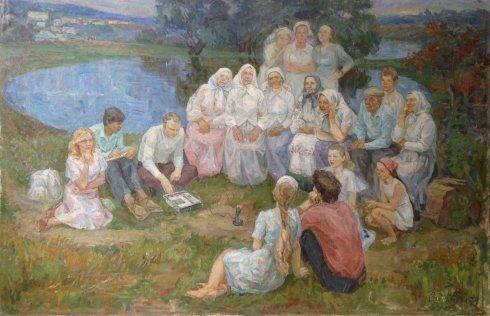 «Народные песни» 1979 - Спинатьева Лариса Васильевна
