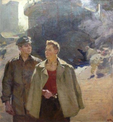 «Метростроевцы» 1957 - Бабенцов Виктор Владимирович