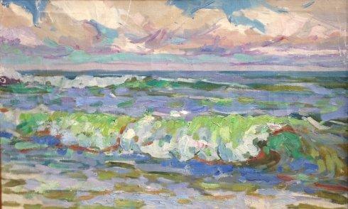 «Морской прибой» 1970 е - Чегодар Василий Дмитриевич