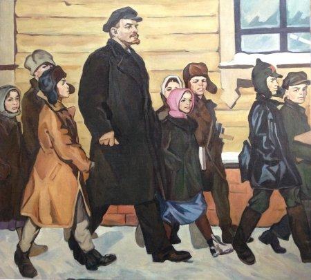 «В новую школу» 1969 - Токарев Вячеслав Васильевич
