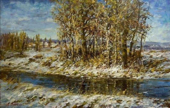 """The February sun"" 2009 - Metelkin Vladislav Mikhailovich"