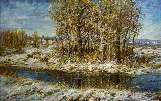"""""""The February sun"""" 2009 - Metelkin Vladislav Mikhailovich"""