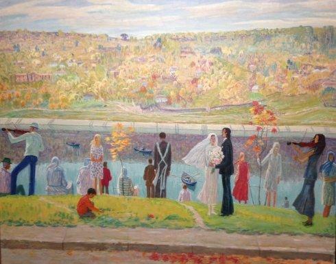 """Moldovan wedding"" 1978-1979 - Yakobchuk Sergey Alekseevich"