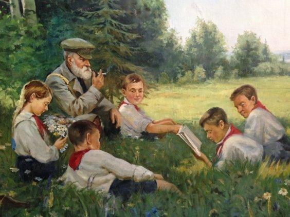 """""""Soviet children""""-""""Soviet children"""""""