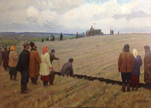 «Первый трактор» 1975 - Максименко Александр Григорьевич
