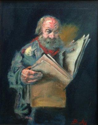 «Читающий» 2011 - Милович Божидар
