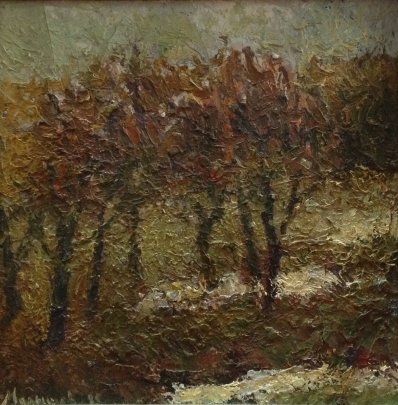 """Landscape"" 1985 - Malyshev Gennady Iosifovich"