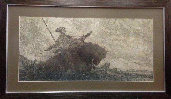 """Duma on the Cossack Golota""-Deregus Mikhail Gordeevich"