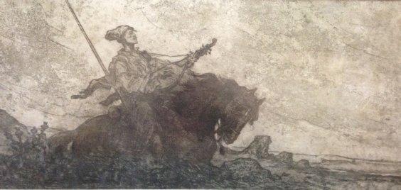 """Duma on the Cossack Golota"" 1958 - Deregus Mikhail Gordeevich"