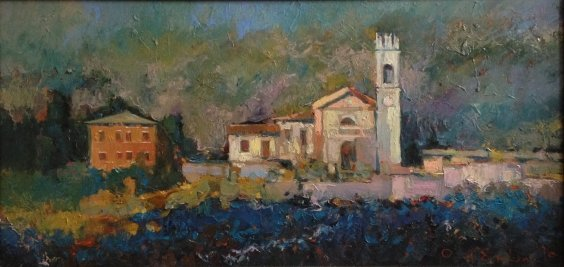 """""""In the valley of the Adige River"""" 2010 - Demko Oleg Alekseevich"""