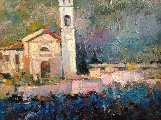 """""""In the valley of the Adige River""""-Demko Oleg Alekseevich"""