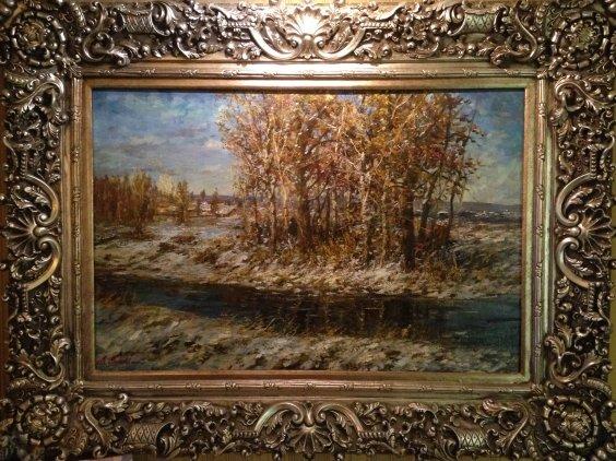 """""""The February sun""""-Metelkin Vladislav Mikhailovich"""