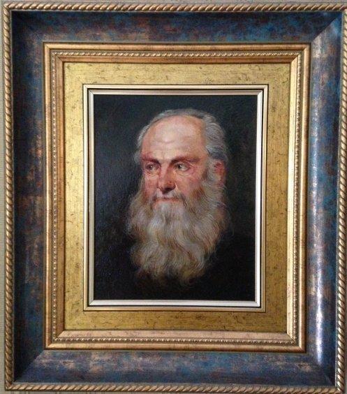 """Portrait of an Old Man""-Demko Oleg Alekseevich"