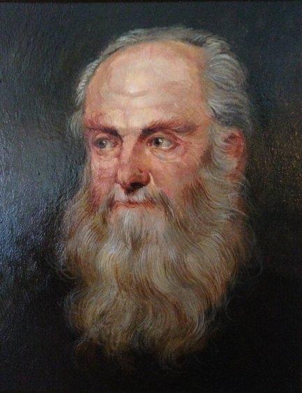 """Portrait of an Old Man"" 2009 - Demko Oleg Alekseevich"