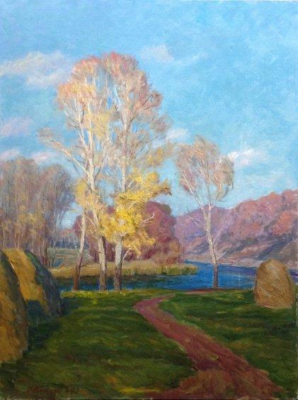 """""""Autumn"""" 1984 - Kikinev Vasily Matveyevich"""