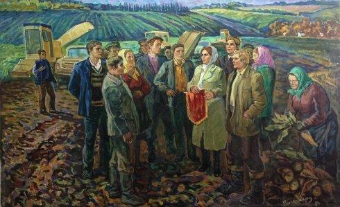 """The best Buryakovod!"" 1984 - Goncharenko Valentina Yakovlevna"