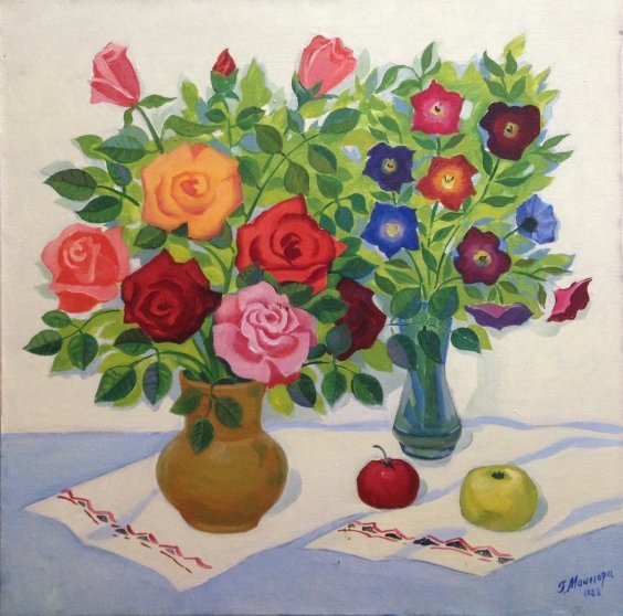 """""""Roses"""" 1988 - Мацегора Григорий Прокопович"""