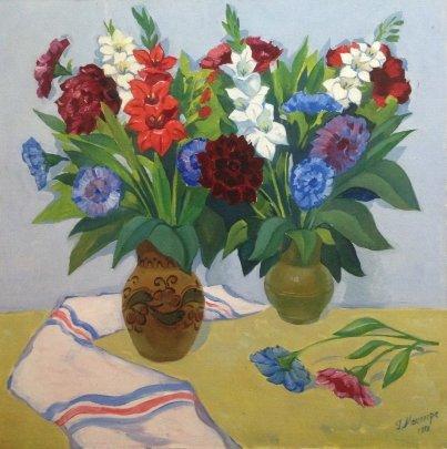 """""""Gladioluses"""" 1988 - Мацегора Григорий Прокопович"""
