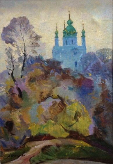 """St. Andrew's Church in Kiev"" 2004 - Бессараба Леонид Павлович"