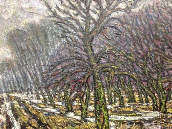 «Весенняя оттепель. Яблоневый сад»-Литвин Леонид Григорьевич