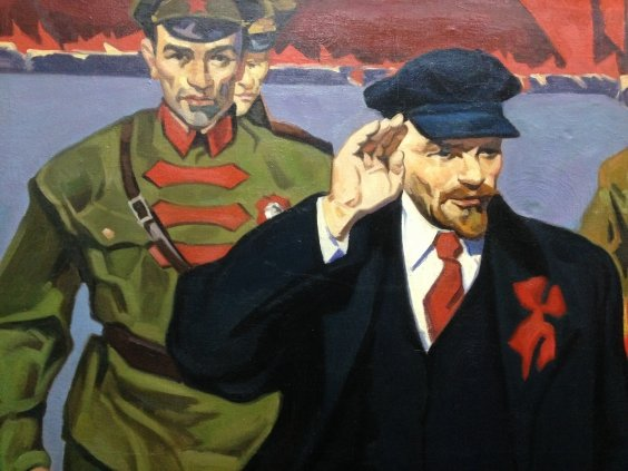 """VI Lenin on the Red Square""-""VI Lenin on the Red Square"""