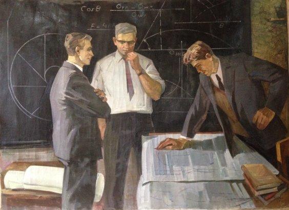 """Soviet scientists theorists"" 1972 - Belov Victor Emelyanovich"