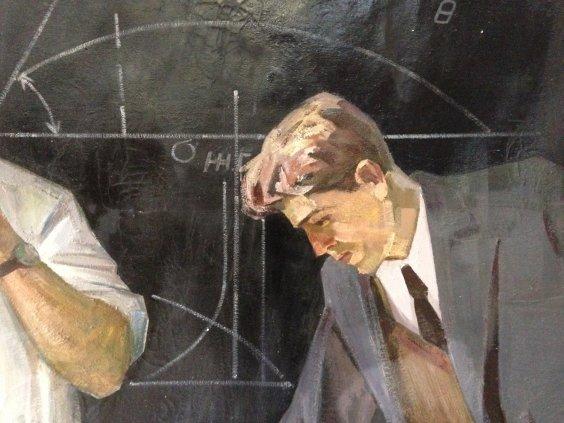 """Soviet scientists theorists""-Belov Victor Emelyanovich"