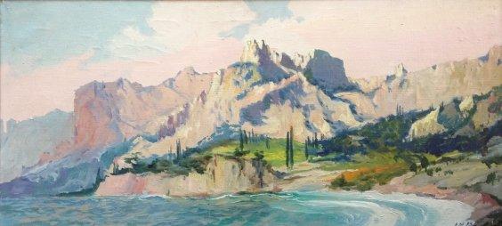 """""""Seascape"""" 1993 - Melnikov Leonid Kuzmich"""