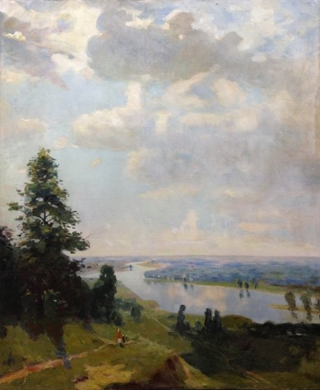 """Summer"" 1950 е - Kirichenko Stepan Andreevich"