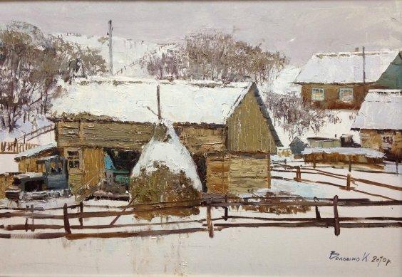 """Cold winter""-Voloshko Karina Nikolaevna"