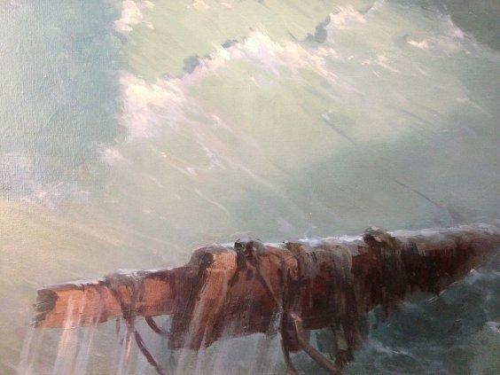 """Shipwreck""-Pryadko Yuriy Yurievich"