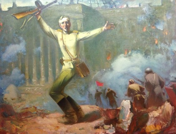 """To storm the Reichstag"" 1985 - Sorokin Nikolai Vasilyevich"